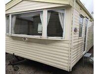 Abi Arizona 8 berth 3 bedroom static caravan for sale on Harlyn Sands, near Padstow, Cornwall