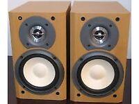 SONY SS-CCP500 Hi-Fi STEREO MINI BOOKSHELF SPEAKERS with grilles