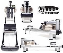 WATERROWER M1- WATER ROWER - HI-RISE - SILVER - Top of the range Rockingham Rockingham Area Preview