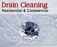 Clogged Drains and Drain Cleaning Services starting at 89.99