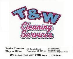 T &W CLEANING SERVICES