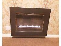 Wall mounted flueless gas fire