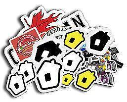 Custom Vinyl Stickers...It's Cheaper Than You Think