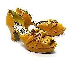Mustard Yellow Heels Ebay