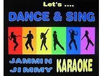 jammin jimmy karaoke host/dj, please get in touch for availability