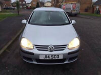 Golf 2.0 5dr (04-09) with 11 months Mot and Full Service History Claen inside And Out
