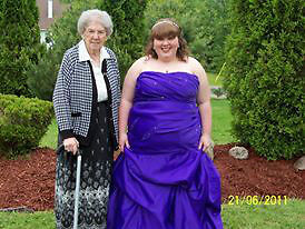 Prom Dress - Masquerade -Purple size 24/25