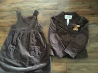 Gymboree Equestrian jumper and jacket size 6/7- so cute - $10