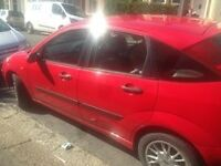 Red ford focus 1.6