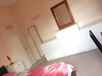 Big double room for single occupancy in a clean not smoking 3 bedroom flat, for female only.