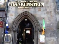 Frankenstein Bar & Bier Keller is looking for bar and waiting staff