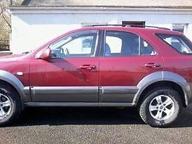 Kia Sorento 4X4 (optional) CRDi XE 5 Door Hatchback Estate
