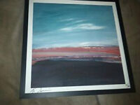 GORD DOWNIE AUTOGRAPHED LIMITED EDITION FRAMED LITHO PRINT
