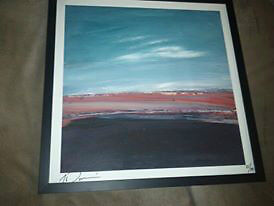 GORD DOWNIE AUTOGRAPHED LIMITED EDITION FRAMED PRINT