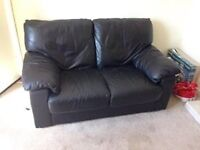 2 seater and 3 seater sofa sofas sette chair black leather