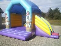 AIRQUEE PIRATE COMBI BOUNCY C ASTLE INFLATABLE (with blower)