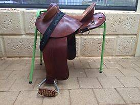 Super comfortable halfbred/stock saddle Chittering Chittering Area Preview