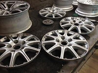 alloy wheel refurbishment powder coating refurb rim repair alloy wheel sales