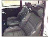 Classic mini leather seats Clio 16v