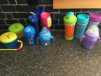 sippys and snack containers-