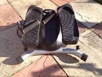 black exersize stepper good condition only £5.00