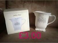 CREAM JARDIN FLEUR MEASURING JUG, SHABBY CHIC/COUNTRY /FRENCH KITCHEN