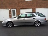 2004 Saab 9-5 Vector Sport Estate 3.0 V6 Turbo Diesel *100,000 Miles* Full Leather* Vectra not 9-3