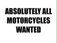 Motorcycles and scooters wanted