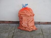 Dry Kindling Firewood - Large Net Bag - Ready to Burn - Collection Only