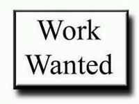 Temp Work Wanted for January 2017 only.