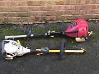 Ryobi PYT 2543Y split shaft petrol ( starter cord knackered) £15.00