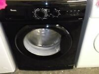 SWAN 8KG Black Washing Machine 1400 Spin SW2060B BARGAIN CHEAP MUST GO DELIVERY AVAILABLE
