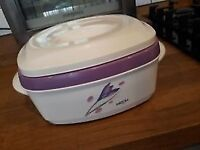 Milton Insulated Keep Warm or Cold Food Server with Stainless Steel Insert