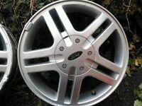 Ford Focus Alloys x4 £50ono