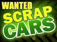 SCRAP CARS WANTED