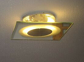 Poole Lighting Mirrored Wall & Ceiling Lamp