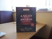 50 x NIGHT AT THE AWARDS AFTER DINNER GAME GREAT BIRTHDAY, CHRISTMAS PRESENT RETAIL AT £18