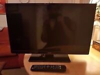 "19"" goodmans lcd tv builtin freeview hdmi ports can deliver"