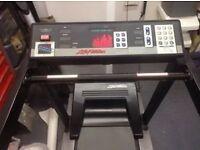 Life Fitness Treadmill/ Running Machine