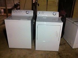 GE SUPER CAPACITY WASHER AND DRYER $900 OBO