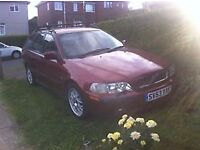 volvo v40 1.6 petrol price reduced for quick sale