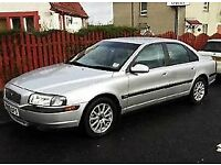 2006 VOLVO S80 D5 SE LUXURY AUTOMATIC, DIESEL LEATHER SEATS, 55 MPG LONG MOT.