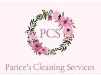 Parice's cleaning services