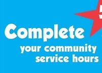 Get your community hours started !