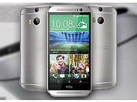 NEW HTC ONE (M7) 16GB Quad-Core 4.7 Inches Android Smart Phone Unlocked Gunmetal Gray /Gold