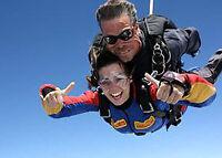 Skydive Alexandria 40min from Cornwall