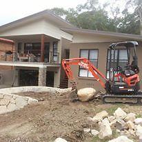 Mini excavator hire Newcastle Newcastle Area Preview