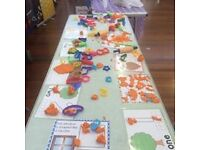A big play dough session for children
