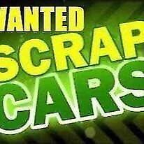 Scrap vehicles wanted