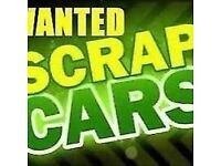 Scrap vehicles wanted